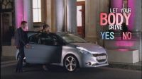 Peugeot 208: Let your body...