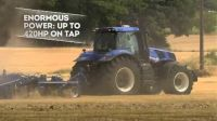 New Holland: traktor T8